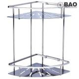 Bán Kệ Goc Inox 2 Tầng Bao Bn820 Inox 304 Bao