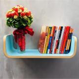 Cửa Hàng Kệ Sach Treo Tường Uốn Cong Plyconcept Book Shelf Mint Blue Laminate Trong Hồ Chí Minh
