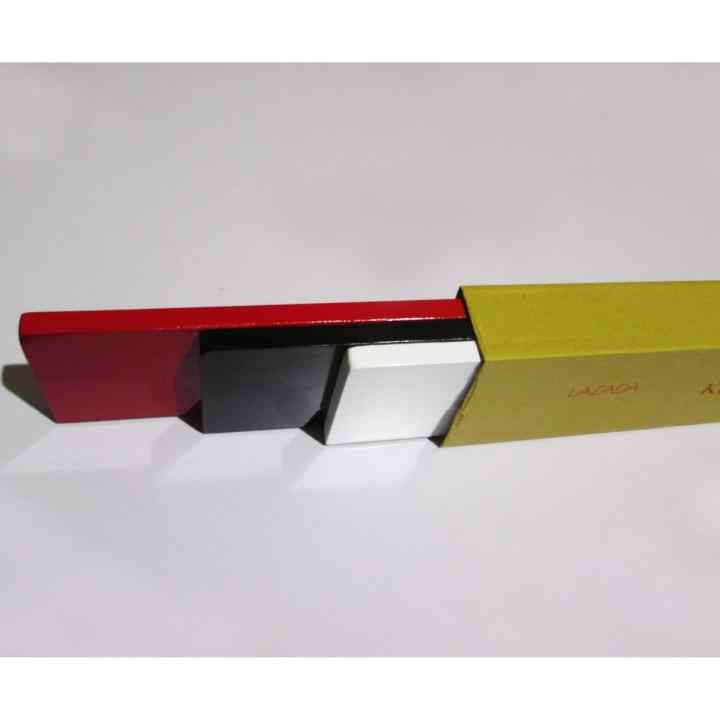 Kệ treo tường 3 thanh ngang ( Chiều dài 3 thanh 60 cm) (Đỏ, Đen, Trắng).