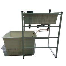 Kệ trồng rau sạch, nuôi cá sạch theo mô hình Aquaponics - AquaFarm Home