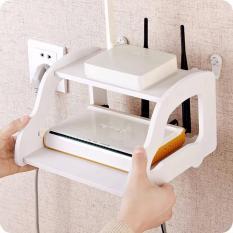 Bán Kệ Wifi Treo Tường Nhỏ Gọn Kiểu Mới Trắng Eom Nguyên