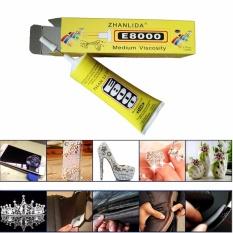 Hình ảnh Keo dán ron, viền màn hình cảm ứng Dán thủ công mỹ nghệ JPC E-8000 50ml - Hàng nhập khẩu