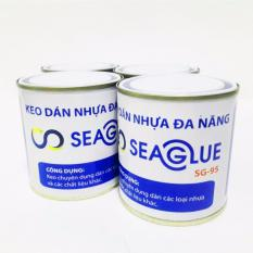 Hình ảnh Keo dán vá nhựa, chống thấm đa năng siêu dính Seaglue SG-95 300ml