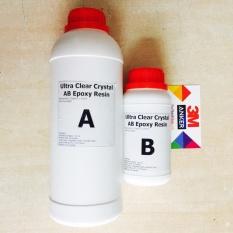 Hình ảnh Keo đổ nhựa làm khuôn, tranh 3D trong suốt cao cấp Epoxy Resin Ultra Clear DTAB2 đổ dày được 1kg