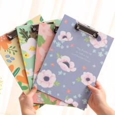 Mua Kẹp tài liệu giấy A4 hình hoa xinh xinh tiện dụng