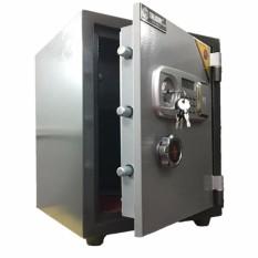 Hình ảnh két sắt chống cháy Treasury Bank KCC56(khóa điện tử báo động)