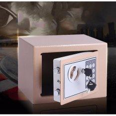 Hình ảnh Két sắt mini - CHỐNG CHÁY NỔ, KHOĂN CẮT, cắt thông minh