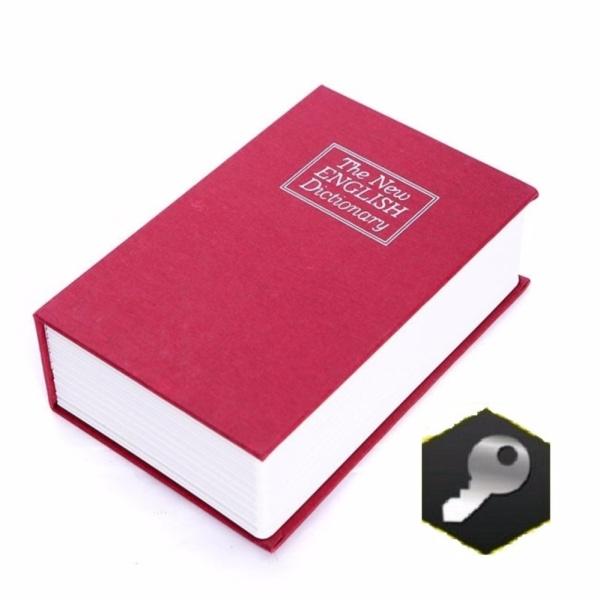 Két sắt mini giả sách, tiết kiệm - Khóa chìa an toàn hơn
