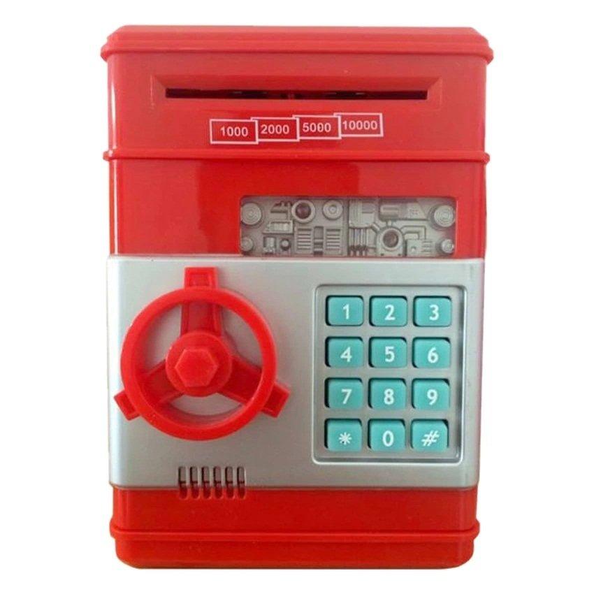 Két tiết kiệm Mini thông minh (Đỏ)