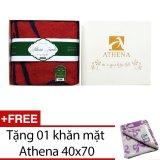Bán Khăn Tắm Bath Towels Athena Co Gai Việt Nam Tặng Kem Khăn Mặt Cong Nghệ Non Twisted Mới