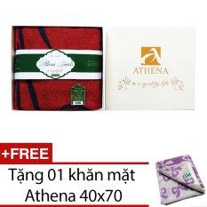Mua Khăn Tắm Bath Towels Athena Co Gai Việt Nam Tặng Kem Khăn Mặt Cong Nghệ Non Twisted Athena