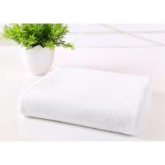 Mua Khăn Tắm Cotton Cao Cấp Bhome Loại Lớn 65X135Cm Trắng Rẻ Hồ Chí Minh