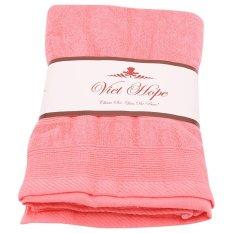 Bán Khăn Tắm Cotton Xuất Nhật Vinatowel Vp 20 70X140Cm Hồng Vinatowel Nguyên