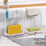 Khay đựng giẻ rửa bát mini tiện lợi (Màu ngẫu nhiên)