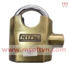 Khóa báo động chống cắt 110dB (Vàng đồng)