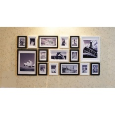Chiết Khấu Khung Ảnh Treo Tường Composite Binbin Ka83 Tặng 1 Bộ Ảnh Binbin