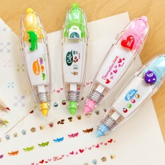 Mua Trẻ em Giáo Dục Ngọt Hàn Quốc Hòa Hiệu Chỉnh Băng BÚT Kid of Văn Phòng Phẩm Trang Trí Băng paster Băng Nhãn Đồ Chơi Giấy Đắp Mặt Nạ Băng-quốc tế