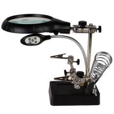 Kính Lúp Kẹp Board Sửa Chữa đa Năng Có đèn 5 Led By HÂn NghĨa.