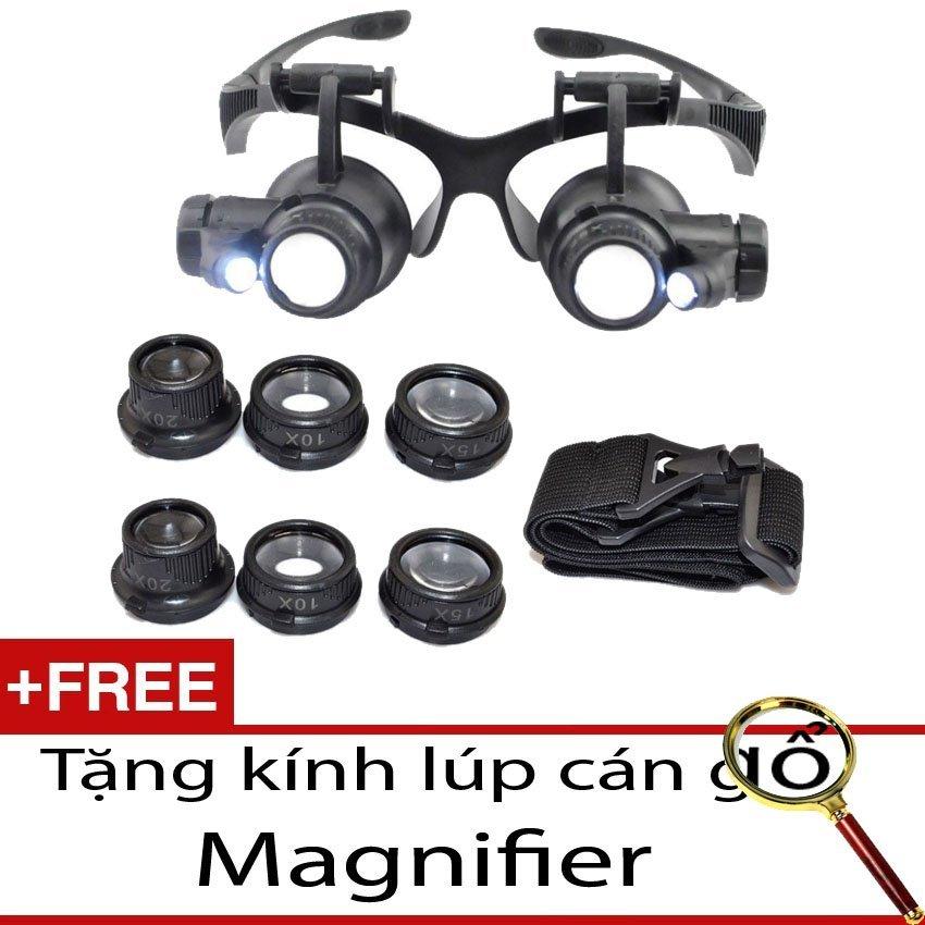 Ôn Tập Kinh Lup Sửa Chữa Kinh Zoom 10X 15X 20X 25X Xem Vật 5Mm Đến 1 5Mm Tặng 1 Kinh Lup Magnifier