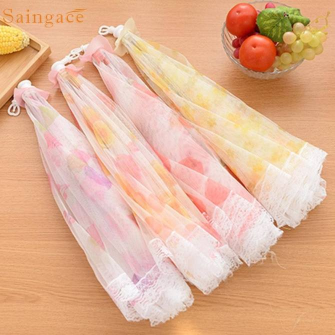 Kitchen Food Umbrella Cover Picnic Barbecue Party Fly Mosquito Mesh Net Tent - intl