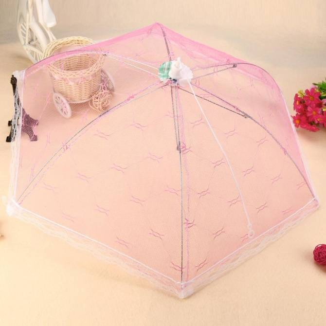 Pink Patio Umbrellas Walmart com Source · Kitchen Food Umbrella Cover Picnic Barbecue Party Fly Mosquito Mesh Net Tent NEW intl Lazada vn