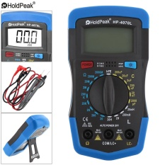 LCD Display 1999 Counts LCR Digital Multimeter with Backlight Support Overload Protection - intl
