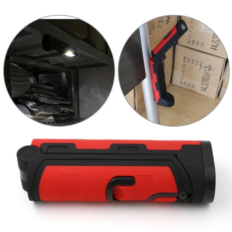 Bảng giá LED Flexible Work Light Portable Magnetic Inspection Folding Flashlights - intl