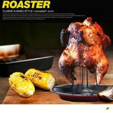 Hình ảnh Leegoal Mới Không Dính Gà Nướng Giá BBQ Dụng Cụ Cắm Trại Ngoài Trời Nướng Chảo Nướng-quốc tế