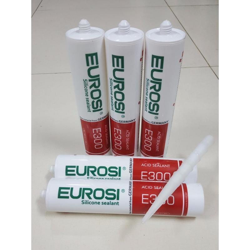 Keo Silicon Trám Trét (Lô 5 Chai) Eurosi E300 - Chất Lượng Đức