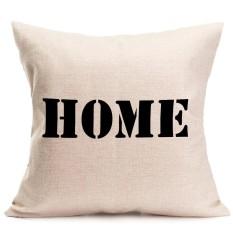 Hình ảnh Tình yêu Ngọt Ngào Nhà Vải Lanh Cotton Ném Gối Sofa Đệm Áo Gối Trang Trí Nhà-quốc tế