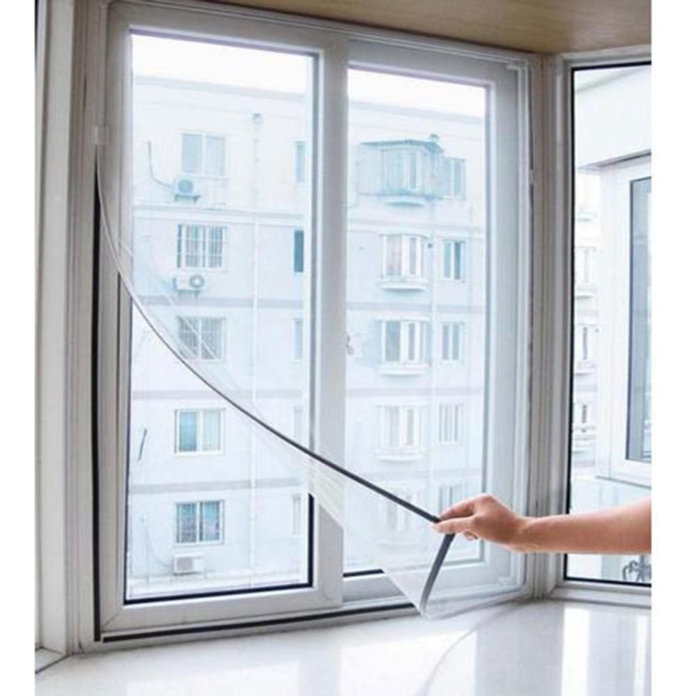 Lưới Dán Cửa Sổ Chống Muỗi 130x150cm + Tặng Bộ 2 Móc Dính Tường Siêu Chắc SYT39 Đang Ưu Đãi