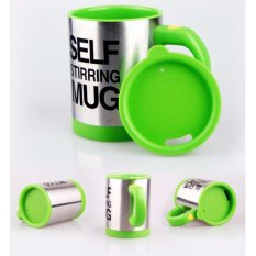Bán Ly Cốc Pha Cafe Tự Động Self Mug 350Ml Xanh La Người Bán Sỉ