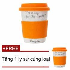 Chiết Khấu Ly Sứ Cao Cấp Dong Hwa Eco Pastel 280Ml Ecc004 Cam Tặng 1 Ly Sứ Cao Cấp Dong Hwa Cung Loại Dong Hwa Trong Hồ Chí Minh
