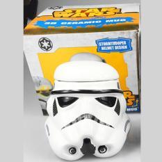 Bán Ly Sứ Star Wars Trắng Stormtrooper Dart Vader Ceramic Mug Trực Tuyến
