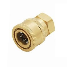 MagiDeal 2 Pieces Pressure Washer Quick Release Socket 15mm to 3/8 Female Connector - intl