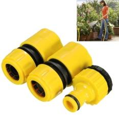 Hình ảnh Makiyo 3 cái Nhanh Ống Nước Adapter Vòi Ống Đa Năng Kết Nối Lắp Bộ Cho Sân Vườn Bãi Cỏ Nước Tập Vòi Ống -quốc tế