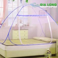 Bán Mua Trực Tuyến Man Chụp Khong Đay Tự Bung Chống Muỗi Cao Cấp Gia Long Made In Vietnam 1M6X2M