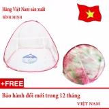 Bán Man Chụp Tự Bung Chống Muỗi Loại 1 Cửa 1M8 X 2M Sieu Bền Hang Việt Nam Rẻ