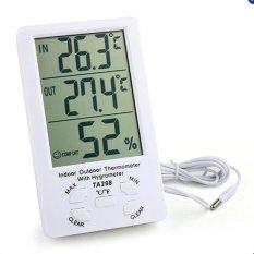 Hình ảnh Màn hình đo nhiệt độ, độ ẩm trong nhà và ngoài trời TA298