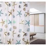 Màn Treo Nhà Tắm (hoa văn sao biển)