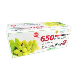 Màng bọc thực phẩm chịu nhiệt lò vi sóng EUFOOD PVC (KOREA) Nho 650 (30cm x 400m) thumbnail