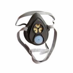 Mặt nạ nửa mặt sử dụng 1 phin lọc 3M  Reusable Half Face Mask Respirator 3200