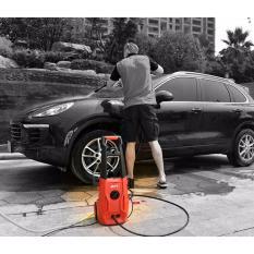 Máy bơm mini đa năng -Máy rửa xe gia đình loại tốt, giá rẻ MPT -Bảo hành 6 tháng