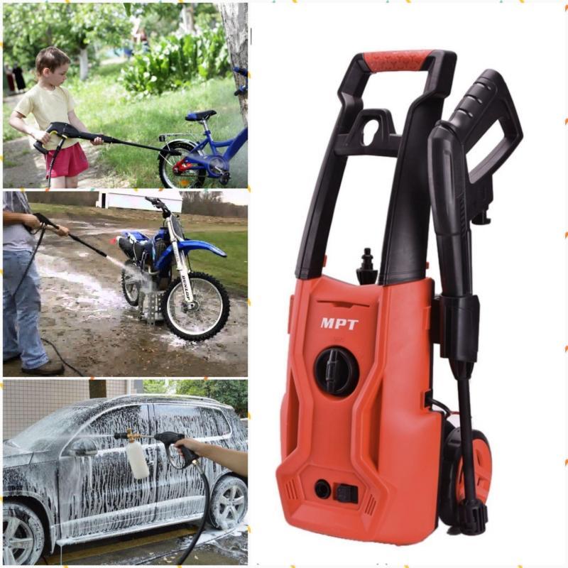 Máy bơm nước cao áp rửa xe ô tô mini -Máyphunxịt rửa cao áp MPTrửa xe, sân vườn, đồ dùng sạch nhất -Bảo hành 6 tháng