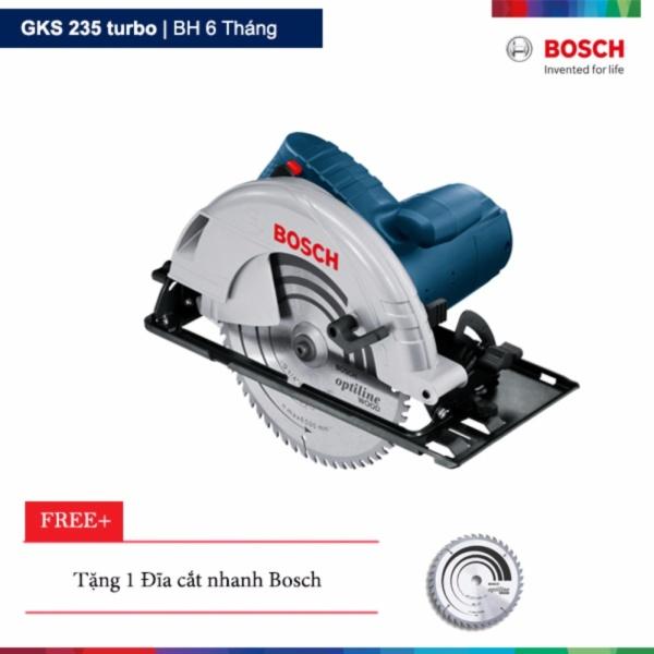 Máy cưa đĩa Bosch GKS 235 turbo Tặng 1 lưỡi cắt nhanh