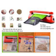 Máy dán, hàn miệng túi đóng gói thực phẩm (Super đa năng cho nhiều loại túi) (Loại dài 20cm)