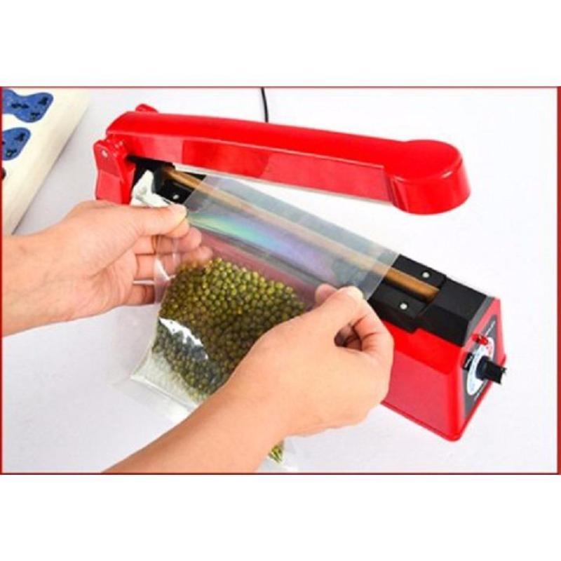 Máy dập dán, hàn miệng túi nilon đóng gói thực phẩm (được yêu thích của Agiadep) (Loại dài 20cm)