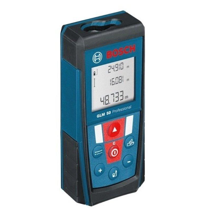 Máy đo khoảng cách laser Bosch GLM 50 (Xanh)