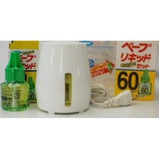 Máy đuổi muỗi xông tinh dầu Nhật Bản Kèm Bộ đổi nguồn 220V sang 110V