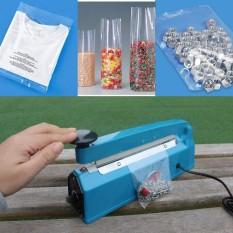 Máy ép bao bì nhựa - Máy ép túi ni lông mini , kích thước hàn 20cm -  Bảo hành 3 tháng